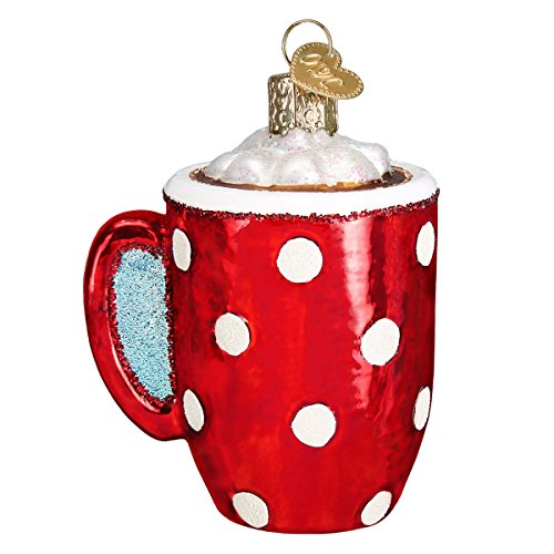 Old World Christmas Coffee and Tea Gifts Glass Blown Ornaments for Christmas Tree Hot Cocoa