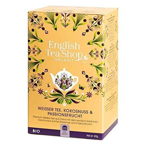 English Tea Shop - Weißer Tee, Kokosnuss & Passionsfrucht, BIO, 20 Teebeutel - (DE-Version)
