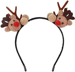 Beautiful crown Accessori per capelli per ragazze di Natale, carino Pompon Renna antlers fascia, vacanza cartoon barrettes...