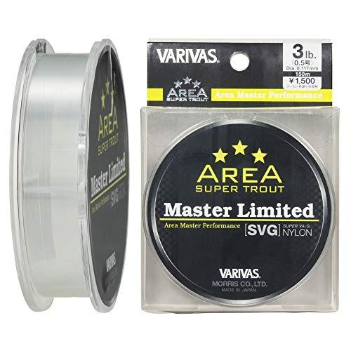 VARIVAS(バリバス) ナイロンライン トラウトエリア マスターリミテッド SVG 150m 0.5号 3lb ナチュラル
