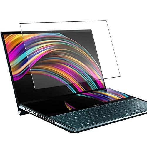"""Vaxson Anti Luce Blu Vetro Temperato Pellicola Protettiva, compatibile con ASUS ZenBook Pro Duo UX581GV 15.6"""" [Coprire Solo l'area Attiva] 9H Screen Protector Film"""