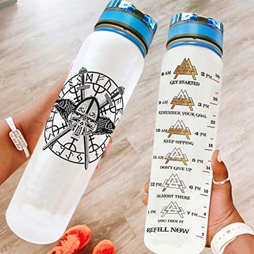 DAMKELLY Store Botella de deporte ligera portátil – Botella con correa Crayy para entrenamiento blanco 1000 ml