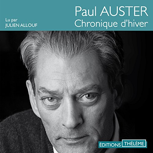 Chronique d'hiver audiobook cover art