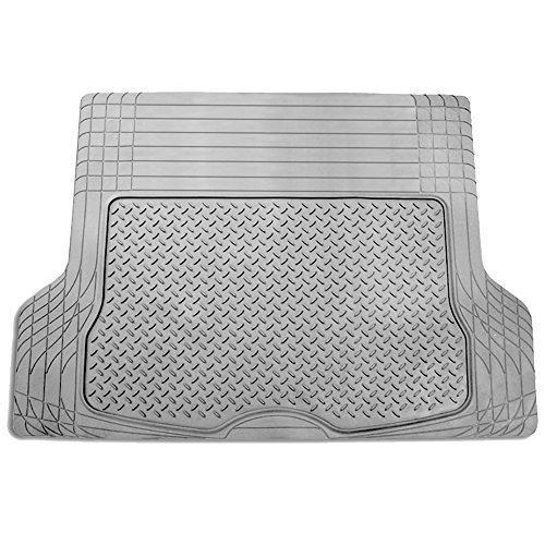 FH Group F16400GRAY Gray All Season Protection Cargo Mat/Trunk Liner (Trimmable) Size 55.5' x 42.5' Large