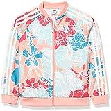 adidas Originals Girl's Superstar Top Glory Pink/Multicolor Large