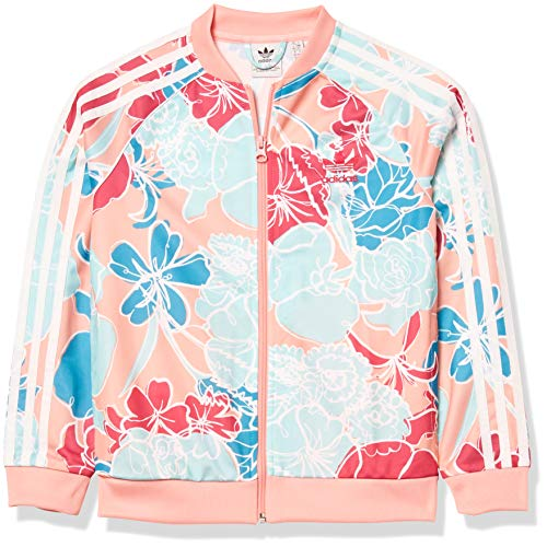 adidas Originals Superstar Top de niñas - rosa - Large