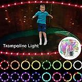 GXLO LED-Trampolin-Leuchten, Trampolin-Outdoor-Nacht Spielen Trampolin-Licht, mit 16 Beleuchtungsmodi, Für Trampolin kann in der Nacht draußen gespielt Werden,6ft