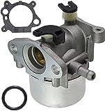 SYCEZHIJIA Piezas de Repuesto para cortacésped Carburador para Briggs & Stratton 799866 790845 799871 796707 794304 Toro Craftsman Motor JD Cortacésped