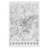 artboxONE Poster 45x30 cm Städte Luxemburg hochwertiger