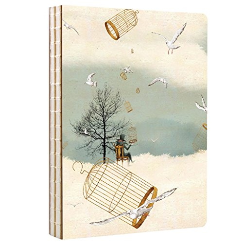 CKH Skizzenbuch Kreatives Briefpapier Skizzen Original Handgemalte Hard Shell Notepad Sub-Kunst Malerei Dick