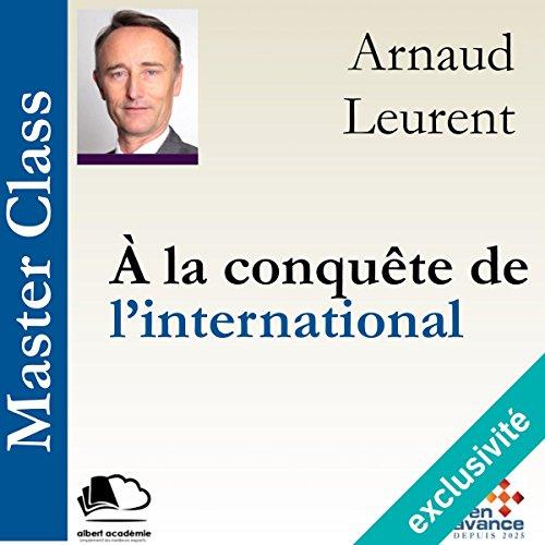À la conquête de l'international audiobook cover art
