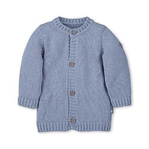 Sterntaler Baby-Jungen 2621871 Jacke, Blau (Bleu 313), 12-18 Monate (Herstellergröße: 86)