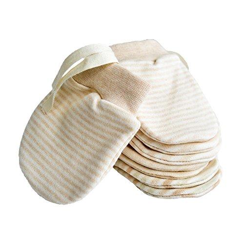 Neugeborene Fäustlinge keine Kratzer Baby Fäustlinge Handschuh aus Bio-Baumwolle für Kinder 0-6 Monate unisex Babyhandschuhe