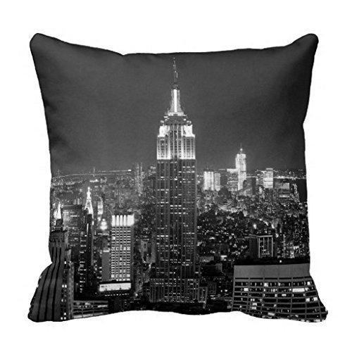 Fashion boutique clothing New York Skyline Empire State Throw 18 * 18 Pillow Case