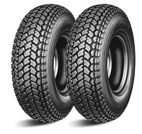 Paire de pneus Michelin ACS 2.75-9 35J pour Piaggio Vespa Lambretta