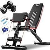 LIUIXNG-sport Panca Multiuso Regolabile 7 Posizione Panca Presidente Fitness Sit-up Aid Sports...