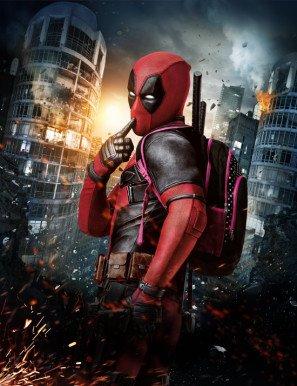 Deadpool - Ryan Reynolds – US Textless Wall Imported Movie Poster Print - 30CM X 43CM Marvel