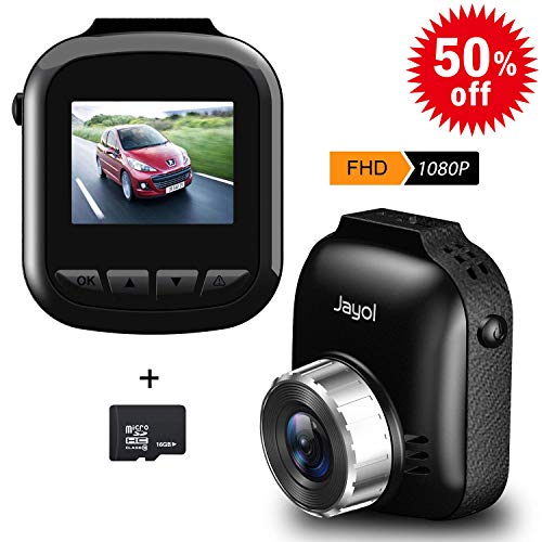 Jayol Dashcam 1080P Full HD DVR Autokamera, 170 ° Weitwinkel