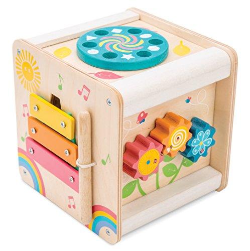 Le Toy Van Wooden Multi-Sensory Activity Cube