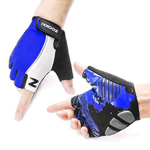 ZOOKKI Cycling Gloves Mountain Bike Gloves Road Racing Bicycle Gloves...