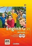 English G 21 - Ausgabe B / Band 1: 5. Schuljahr - Workbook mit Audio-Materialien