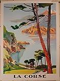 Die Korsika–Peri–50x 70cm zeigt/Poster