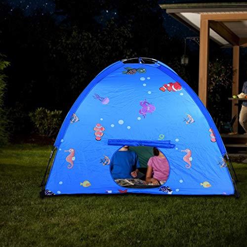 Gedourain Tente de Jeu Portable pour Enfants en Fibre de Polyester inodore pour Les Enfants