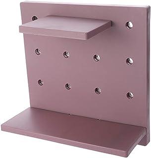パンチングラック 浴室ラック リビング飾り棚 キッチンラック 浴室用収納ラック 穴あきボード 壁面収納 取り付け簡単