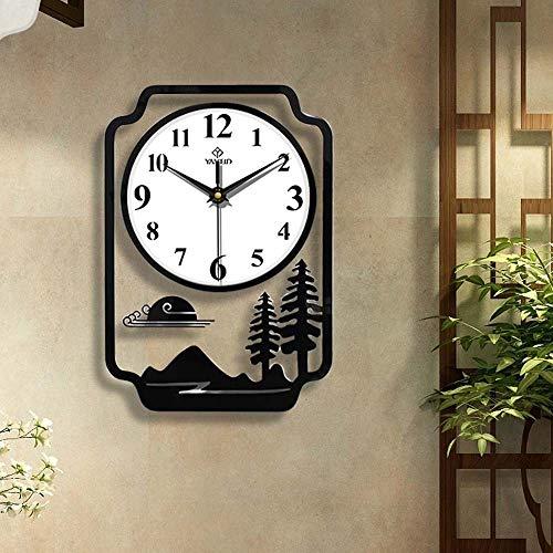 Acryl grote wandklok modern 3D-ontwerp hangende quartz keukenklok woondecoratie stille klok woonkamer