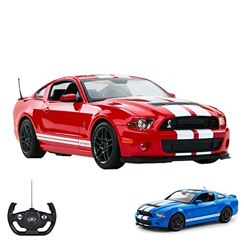 HSP Himoto Ford Mustang Shelby GT500 - RC ferngesteuertes Lizenz-Auto im Original-Design,Modell-Maßstab 1:14, Ready-to-Drive inkl. Fernsteuerung