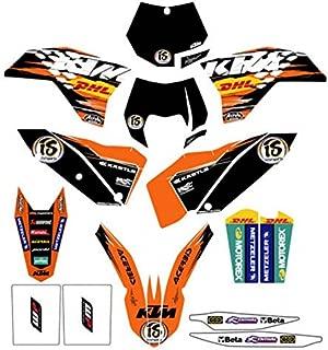 NEW KTM FACTORY ENDURO GRAPHICS SX XC EXC SXF XCW SMR XCF 2007-2011 78008190000