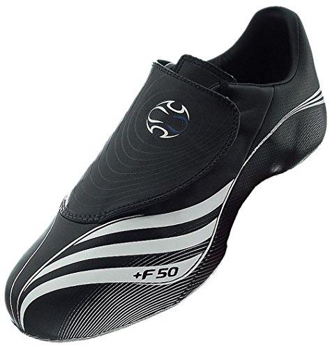adidas F50.7 Tunit Leder Upper Schwarz 38