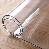 runde durchsichtige kunststoff tischdecke pvc wasserdichte küche speiseglas tischtücher abdeckungsschutz transparent kristall vinyl tischdecke durch yunhigh