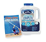 BioGuard SilkGuard Complete 1' Chlorinating Tablets 4.5 lb with Pool Care Log Book (2 Items)