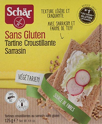 Schär Tartine croustillante au Sarrasin sans gluten 125 g