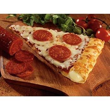 Conagra The Max Stuffed Crust Pepperoni Pizza Slice 5.75 Ounce -- 72 per case.