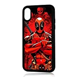 (for iPhone Xs MAX) Durable Protective Soft Back Case Phone Cover - A11287 Deadpool