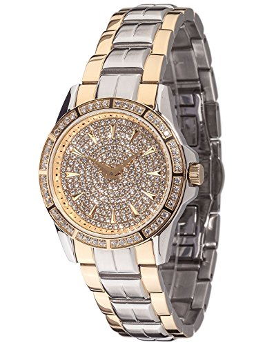 Yves Camani Damen-Armbanduhr Woman Galaure Analog Quarz YC1071-B