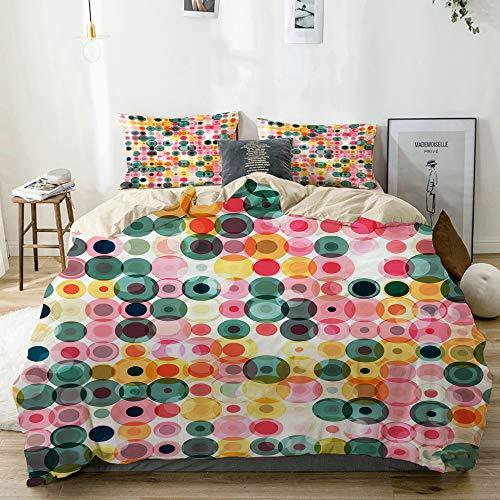 KASABULL Duvet Cover Set,color pastel music equalizer generated design...