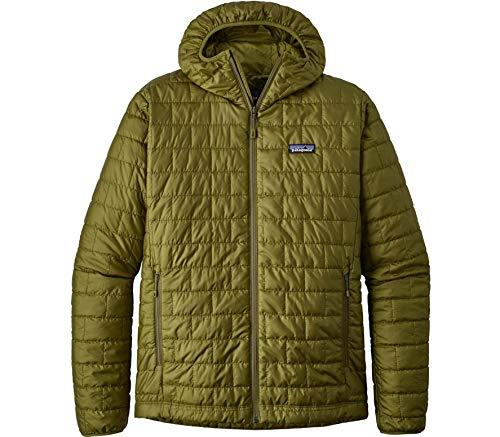 Patagonia Herren M's Nano Puff Hoody Jacket, Weide-Kräuter-Grün, XL