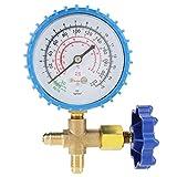 Manómetro de aire acondicionado, medidor de presión de recarga refrigerante, 4.92N* 3.15In para el hogar Aire acondicionado Tienda