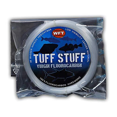 WFT Fluorocarbon Vorfach Schnur 50m (0,60mm-1,20mm), Durchmesser:0.8mm