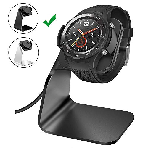 NANW Charger Dock Compatible with Huawei Watch 2, Replacement Charging Cradle Adapter Holder with 4.2 ft USB Charging Stand Station Cable Accessories Compatible with Huawei Watch 2 / Watch 2 Pro
