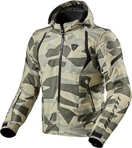 Revit Flare 2 Motorrad Textiljacke Camouflage XL