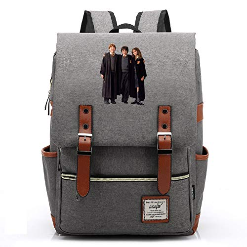 Harry P College School Backpack, Outdoor Oxford Cloth Hogwarts Backpack, Fits 15'' Laptop Tablet M-14inch Type-3