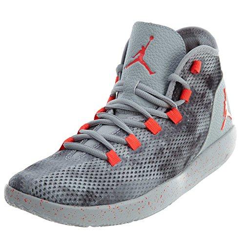 Nike Herren Jordan Reveal PREM Basketballschuhe, Gris (Wolf Grey/Infrared 23-Black), 47.5 EU