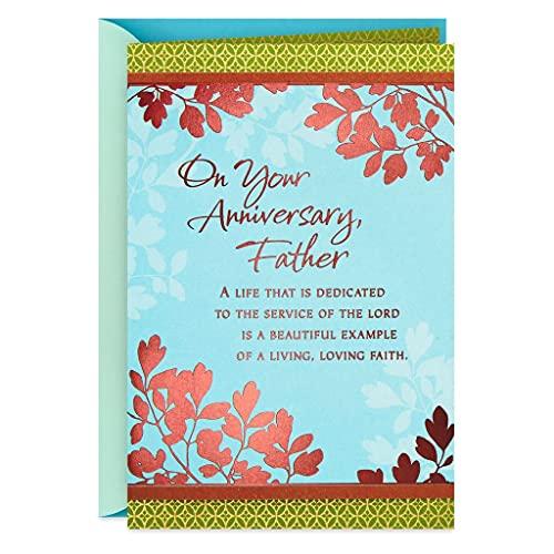 Profitz Kart A Living, Loving Faith Clergy Anniversary Card for Priest