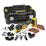 <span class='highlight'>DeWalt</span> DCS355D1-<span class='highlight'>GB</span> <span class='highlight'>Oscillating</span> Multi-Tool 18V li-ion Cordless <span class='highlight'>Brushless</span> (1 x 2Ah Battery) with 35 Accessories, 18 V, Large