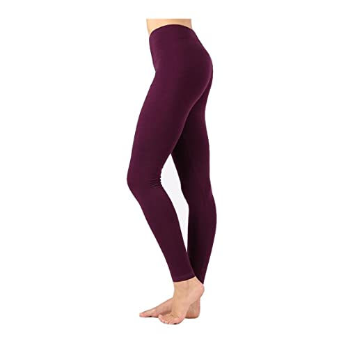 1c81e267a8a3a3 Zenana Outfitters JKC USA Selected Premium Cotton Full Length Solid Color  Leggings Various Colors OP-