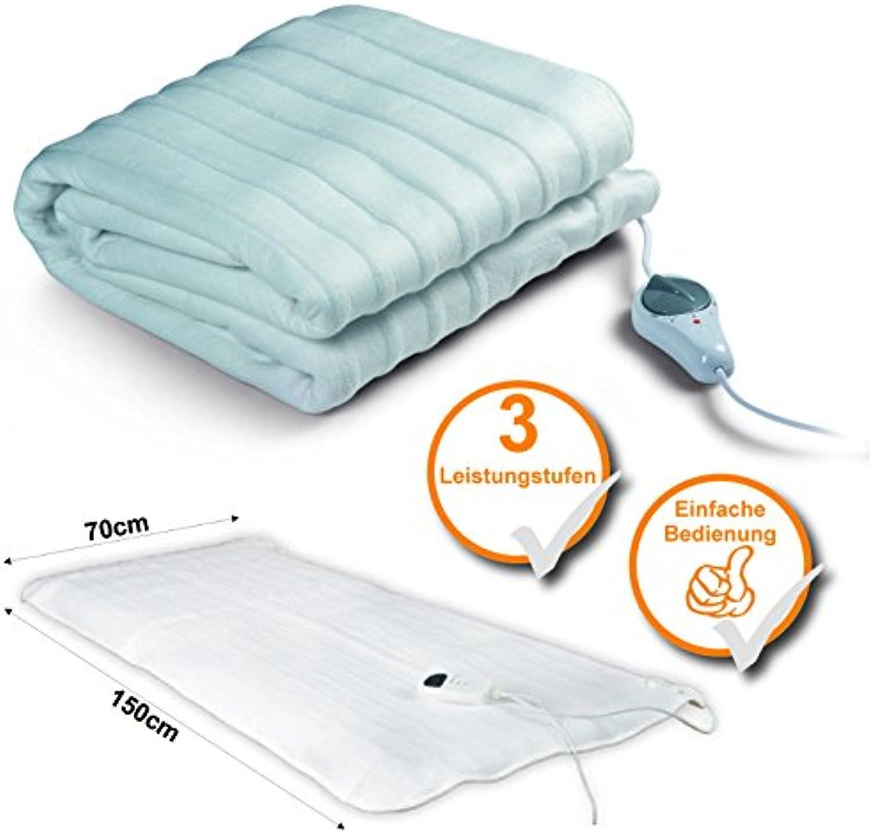 Heizdecke, elektrische Wärmedecke, 3 Heizstufen, Wärmeunterbett, ideal an kalten kalten kalten Tagen (nur 45-55Watt) B009M6BPU2 c9e8a6